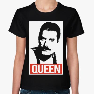 Женская футболка Фредди Меркьюри