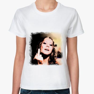 Классическая футболка girl