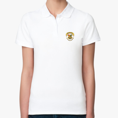 Женская рубашка поло Хогвартс