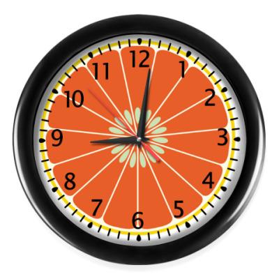 Настенные часы Грейпфрут