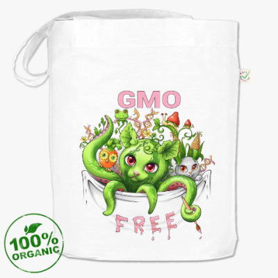 Сумка GMO free - без ГМО