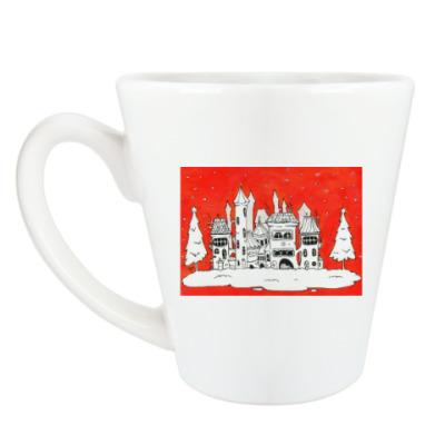 Чашка Латте Рождественское настроение