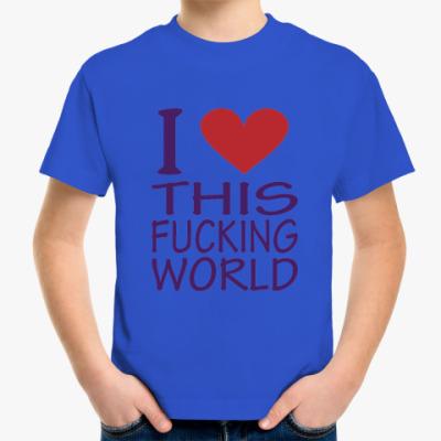 Детская футболка Love World