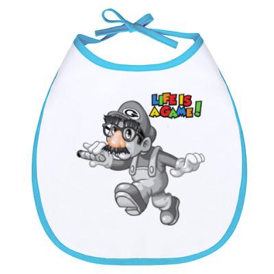Слюнявчик Марио - жизнь игра