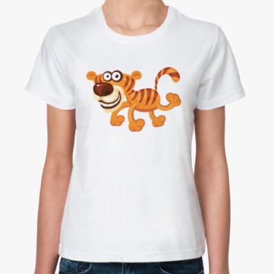 Классическая футболка Тигрица