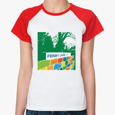 Женская футболка реглан Penny Lane