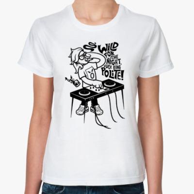 Классическая футболка Skrillex