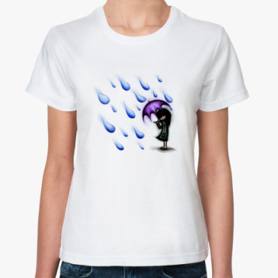 Классическая футболка  Rainy