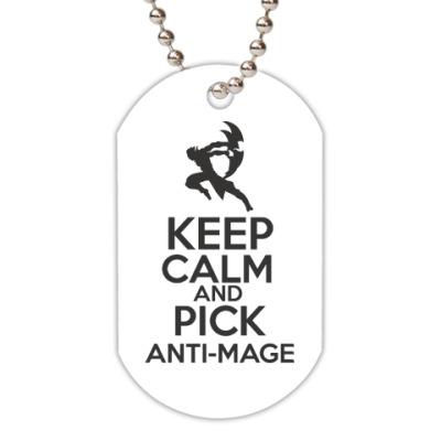 Жетон dog-tag Pick anti-mage