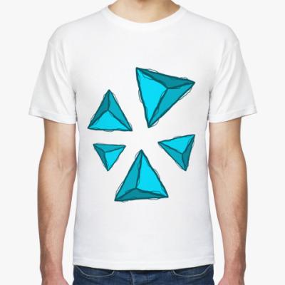 Футболка Abstra Пирамиды