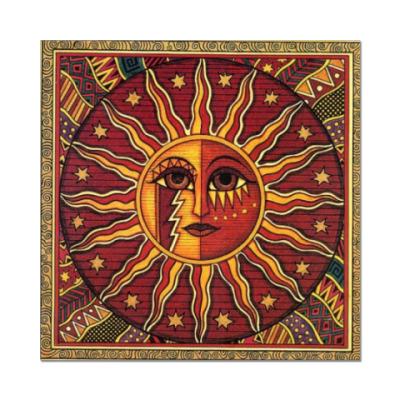 Наклейка (стикер) Бог Солнца