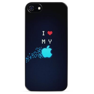 Чехол для iPhone I love my apple