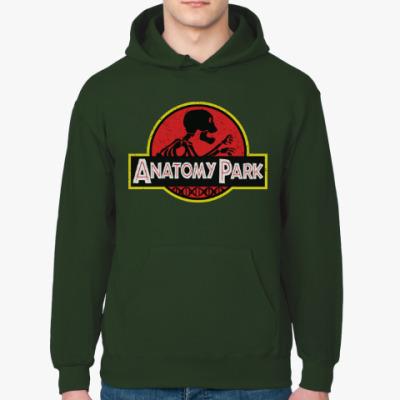 Толстовка худи Anatomy Park