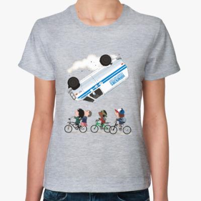 Женская футболка Очень странные дела