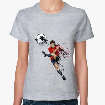 Женская футболка Надо гол!