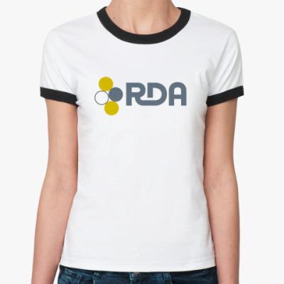 Женская футболка Ringer-T   (AVATAR)