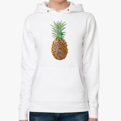 Женская толстовка худи Pineapple