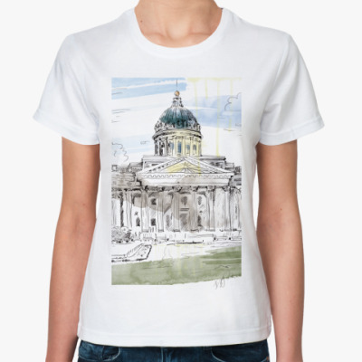 Классическая футболка Казанский собор