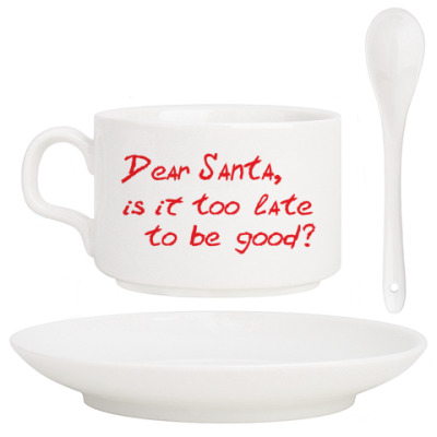 Dear Santa, is it too late..?