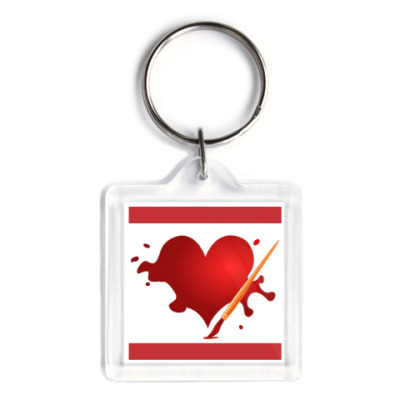 Брелок Heart
