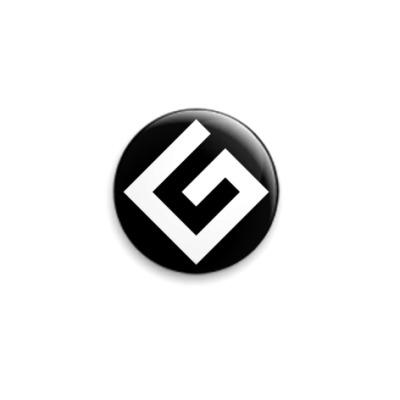Значок 25мм Граммарнацистский значок