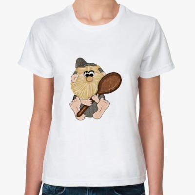 Классическая футболка  Домовёнок
