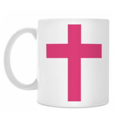 Кружка Розовый крест