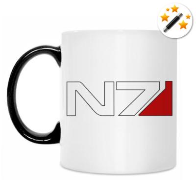 Кружка-хамелеон N7 Mass Effect