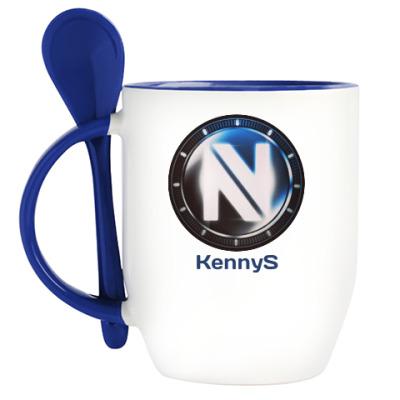 Кружка с ложкой ENVYUS KeenyS