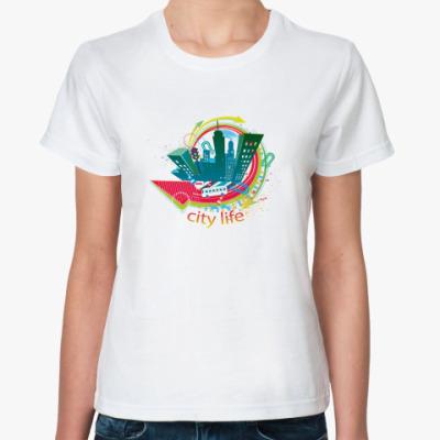 Классическая футболка city life
