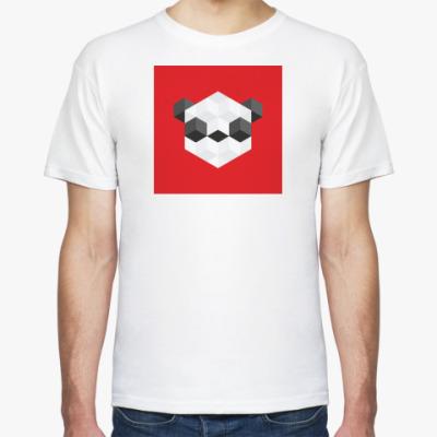 Футболка Квадратная панда