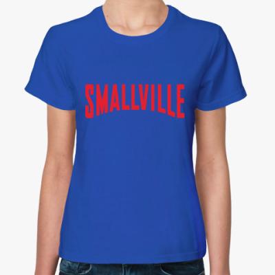 Женская футболка Тайны Смолвиля / Smallville