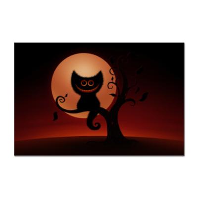 Наклейка (стикер)  Cheshire Cat