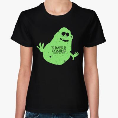 Женская футболка Лизун