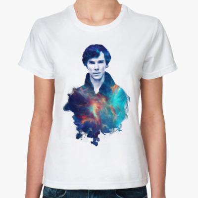 Классическая футболка Шерлок Холмс