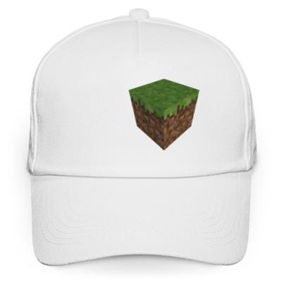 Кепка бейсболка Лого Minecraft