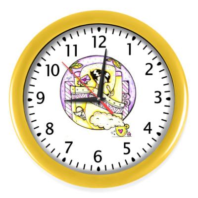 Настенные часы Сон