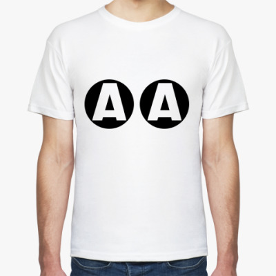 Футболка A A