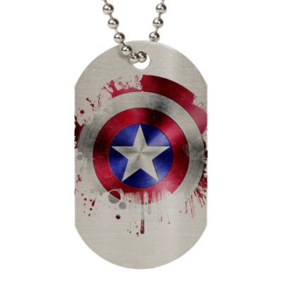 Жетон dog-tag Капитан Америка(Мстители)