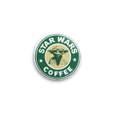 Значок 25мм Star Wars VII coffee