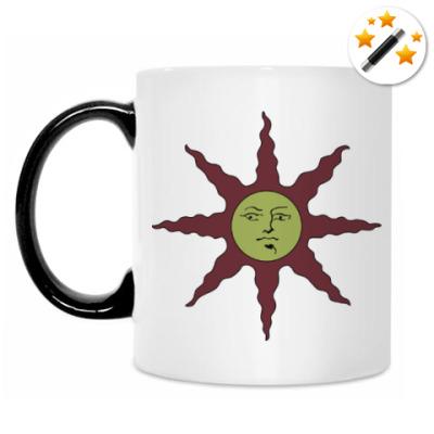 Кружка-хамелеон dark souls sun