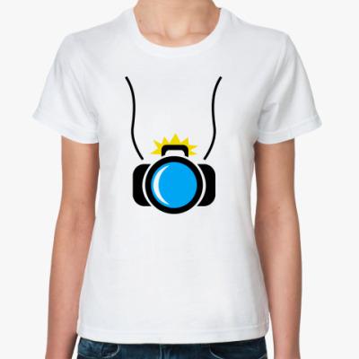 Классическая футболка фотик