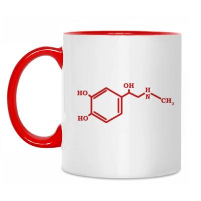 Кружка Химическая формула Адреналина