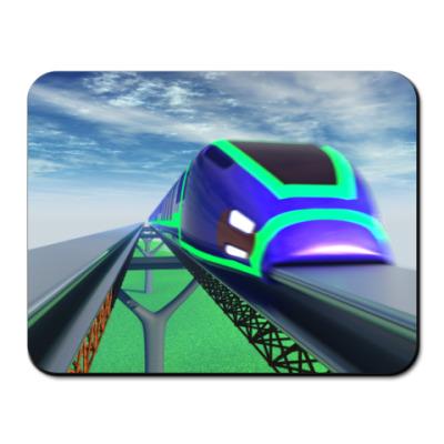 Коврик для мыши  'Поезд 3d'