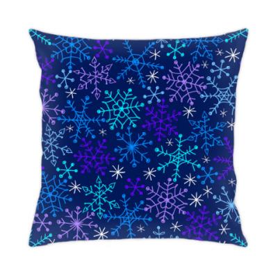 Подушка Снежная карусель
