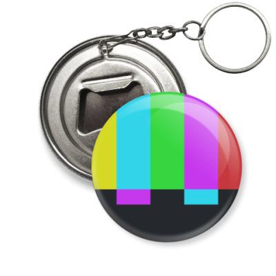 Брелок-открывашка принт Шелдона 'TVbars'