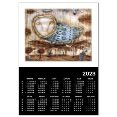 "Календарь  A2  ""Птица"""