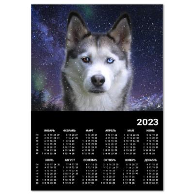 Календарь Год собаки