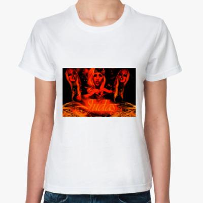 Классическая футболка Lady Gaga Judas
