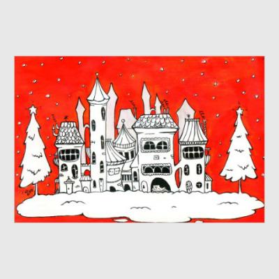 Постер Рождественское настроение